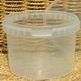 500ml Clear Tub With Lid