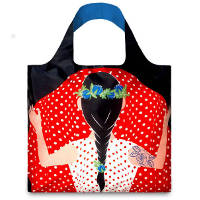 LOQI Cool People 'Flashing Girl' Tote